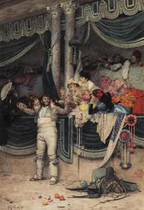 The Bullfighter's Adoring Crowd