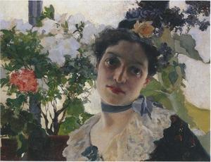 Portrait of Clothilde