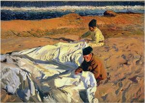 Sewing the Sail