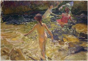 The bath, Javea