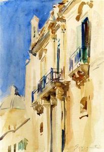 Façade of a Palazzo, Girgente, Sicily
