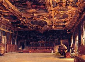 Innenansicht der Dogenpalast