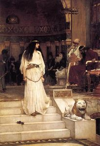 Mariamne Leaving the Judgement Seat of Herod