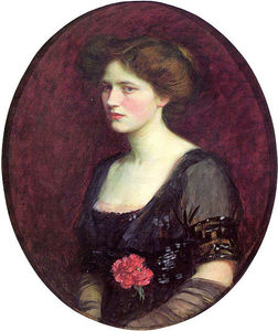 Portrait of Mrs.Charles Schreiber