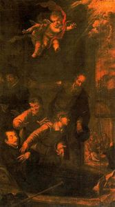 El trance de San Ignacio en el Hospital de Manresa