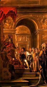 San Ambrosio nombrado gobernador de Milán