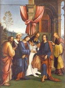 Sposalizio della Vergine e i Santi Francesco e Anna