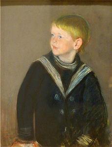 Sailor Boy. Portrait of Gardner Cassatt as a Child