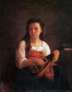 The Mandolin Player 1