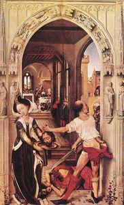 St John the Baptist altarpiece - right panel