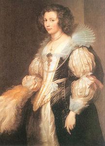 Portrait of Maria Lugia de Tassis