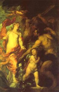 Venus Asking Vulcan for Arms for Aeneas