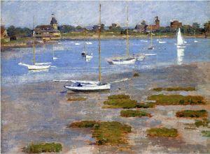 Low Tide, The Riverside Yacht Club