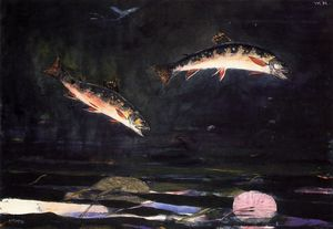 Leaping Trout 1