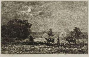 Moonlight at Valmondois
