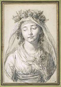 Portrait of miss Laura Bonneuil