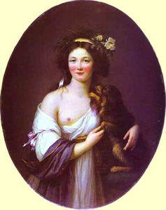 Portrait of Mme D'Aguesseau