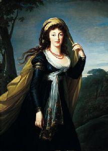 Portrait of Theresa, Countess Kinsky