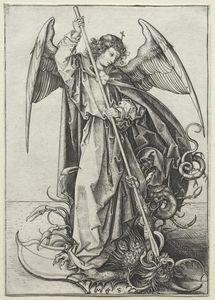 The Archangel Michael Piercing the Dragon