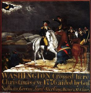 Washington at the Deleware