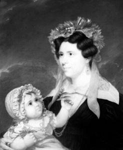 Mrs. Eleanor Doran and Her Daughter Margaret