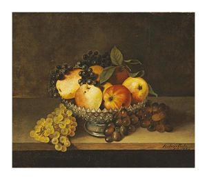 Still Life With Crystal Compote