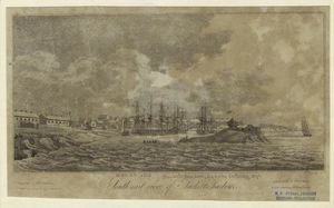 outh-east view of Sackett's harbour