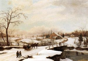 Philadelphia Winter Landscape