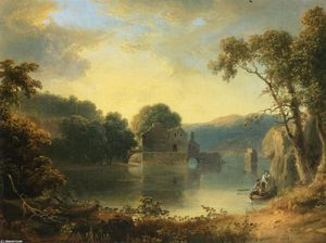 Ruins in a Landscape