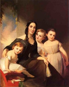 Portrait of Mrs. James Robb and Her Three Children