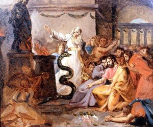 Moses and the Serpent