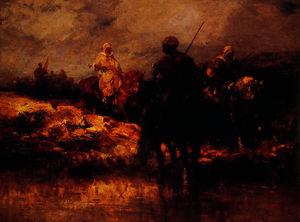 Arabs on Horseback 1