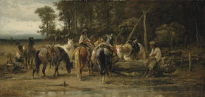 Cossacks Watering Their Horses