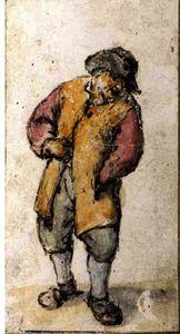 Standing Peasant, His Left Hand In His Coat Pocket