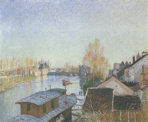 Banks of the Loing near Moret