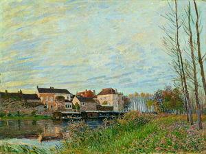 Evening in Moret, End of October