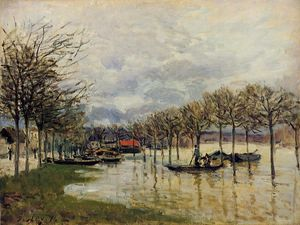 The Flood on the Road to Saint Germain
