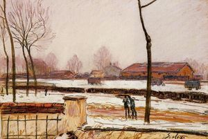 Winter Landscape, Moret