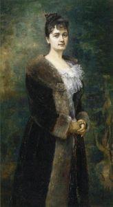 A Портрет of M . Л . Бион