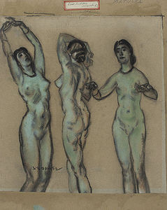 The Three Graces (East Indian Worship)