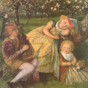 The King's Orchard (study)