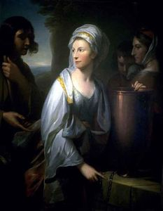 Mary; Wife of Henry Thompson of Kirby Hall as Rebecca at the Well