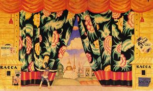 Curtain desing for The Flea