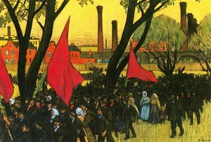 May Day Demostration at the putilov Plant