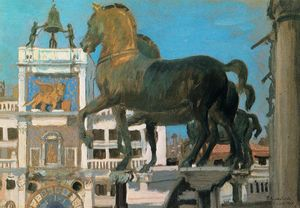 Venice. The Horses of San Marco
