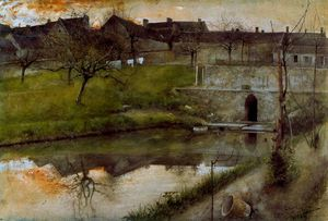 Grez-sur-Loing pond