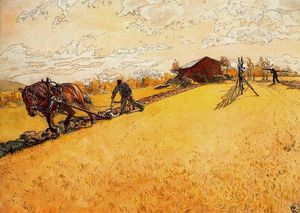Ploughing the field