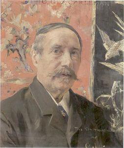 Portrait of Gustav Carleman