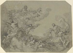 Study for a ceiling