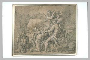 Combat d'Hercule et d'Achéloüs